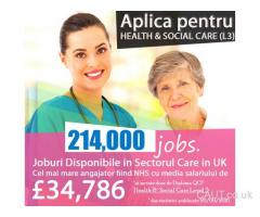 Diploma in Health & Social Care Level 3 Care Assistant, Nurse si Asistenti Medicali